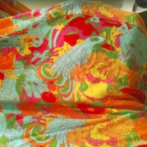NOOWORKS California psychedelic circle scarf
